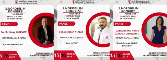 TURKISH NPSA GROUP PRESENTED A NPSA PANEL AT THE 2ND NEUROSCIENCE CONGRESS